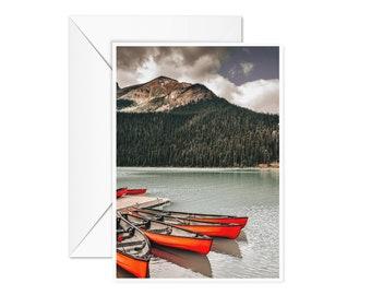Blank Canoe Card