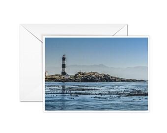 Blank Lighthouse Card