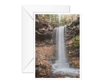 Blank Waterfall Card