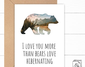 Bear Love Card