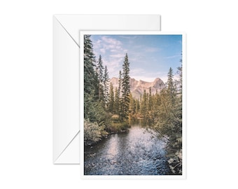 Blank Mountain Landscape Card