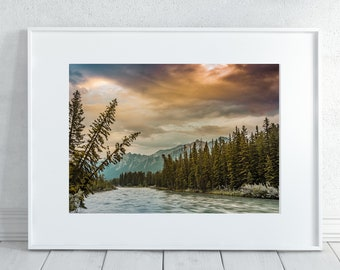 Rocky Mountain Sunrise Photography Print