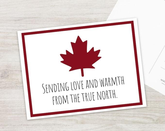 Sending Love Postcard Set