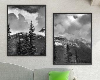 Minimalist Mountain Prints