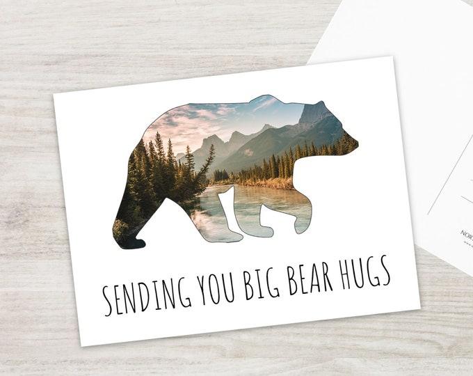 Sending a Hug Postcard Set