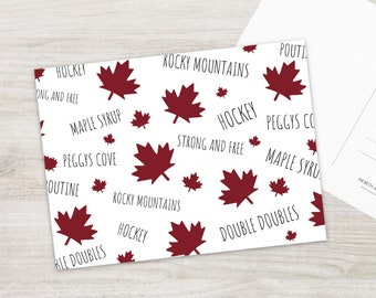 Canadian Postcard Set