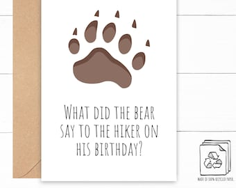 Bea Joke Birthday Card
