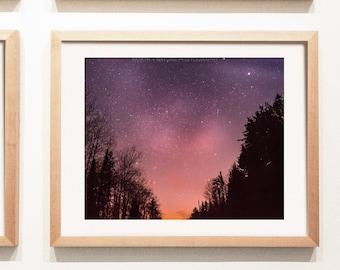 Nightsky Photography Print and Canvas Wall Art