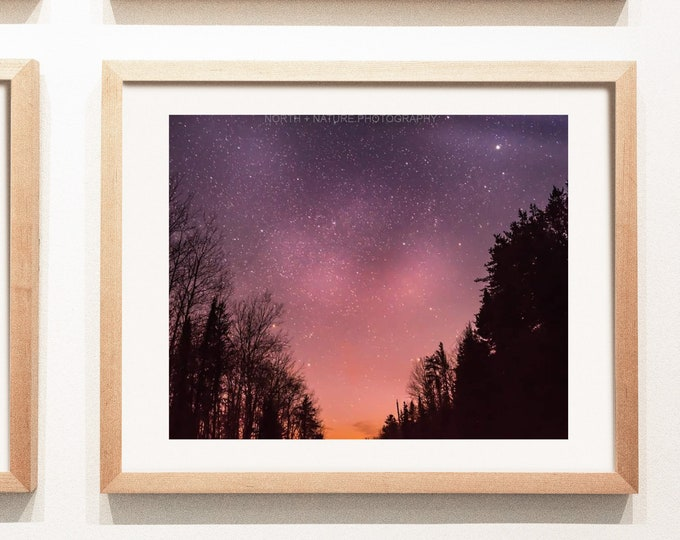 Star Phototography Print and Canvas Wall Art