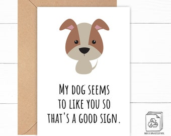 Funny Dog Anniversary Card