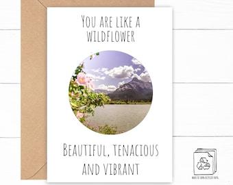 Wildflower Love Card