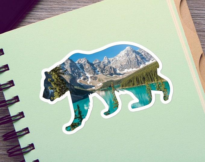Vinyl Bear Sticker