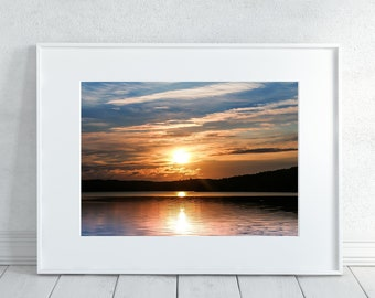 Sunset Photography Print