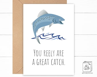 Fish Anniversary Card
