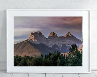 Rocky Mountains Wall Art