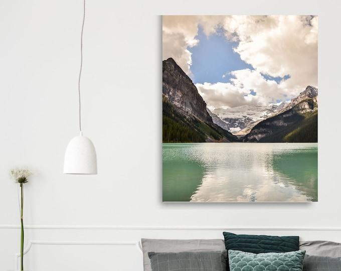 Mountain Lake Canvas Print Landscape