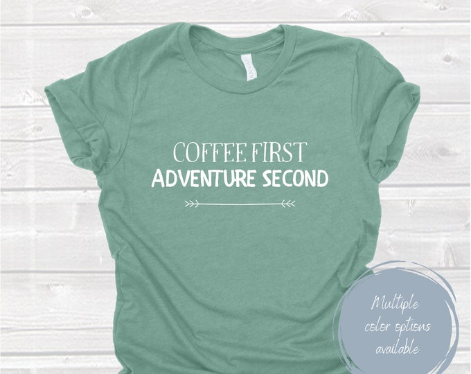 Coffee First Shirt