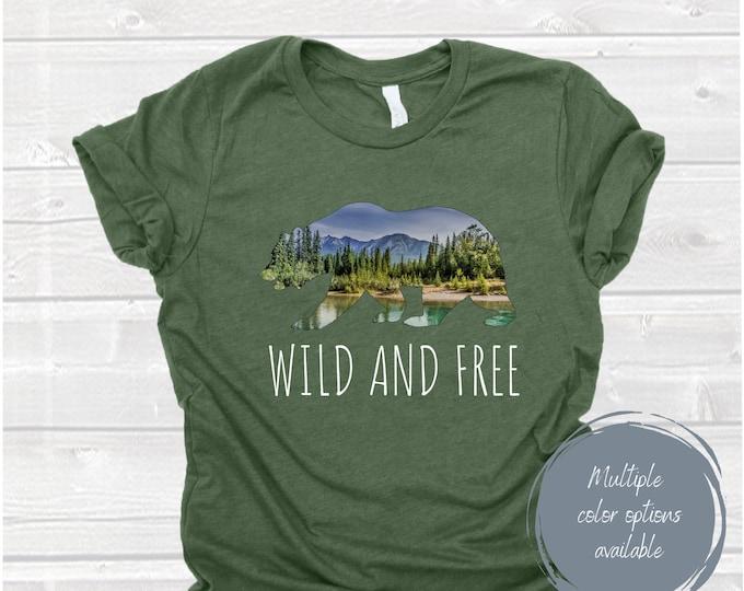 Wild and Free Shirt