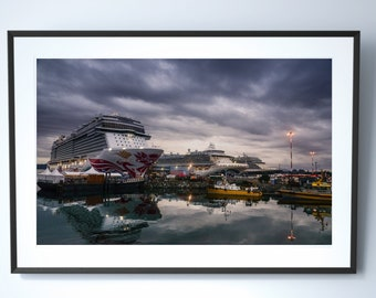 Cruise Ships Photography Print