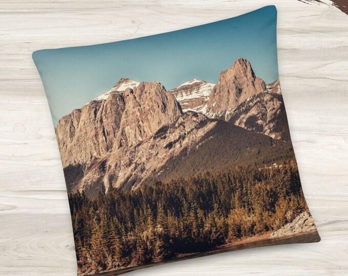 Mountain Peaks Pillow
