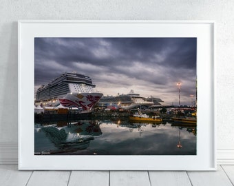 Cruise Ship Wall Art