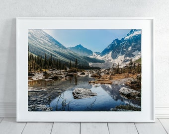 Rustic Mountain Wilderness Wall Art