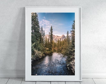 Rustic Mountain Photography Print