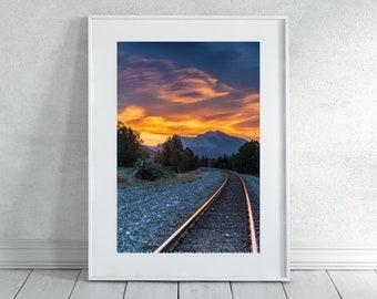 Train Tracks Photography Print