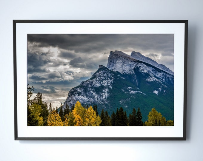 Featured listing image: Mountain Photography Print