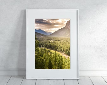 Banff Photography Print