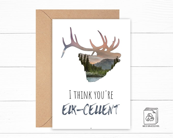 You're Excellent Card