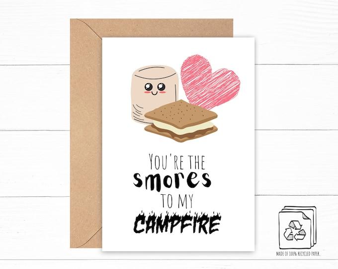 Campfire Love Card
