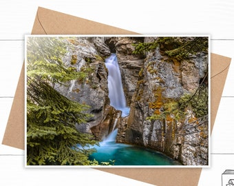 Personalized Waterfall Greeting Card