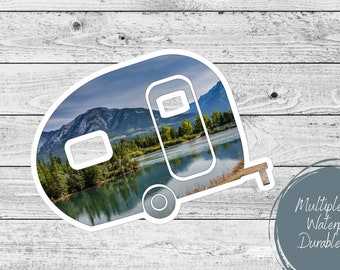 Camper RV Sticker