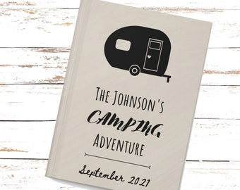 Personalized Camping Journal