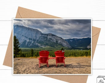 Personalized Banff National Park Card