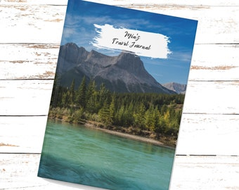 Personalized Mountain Journal