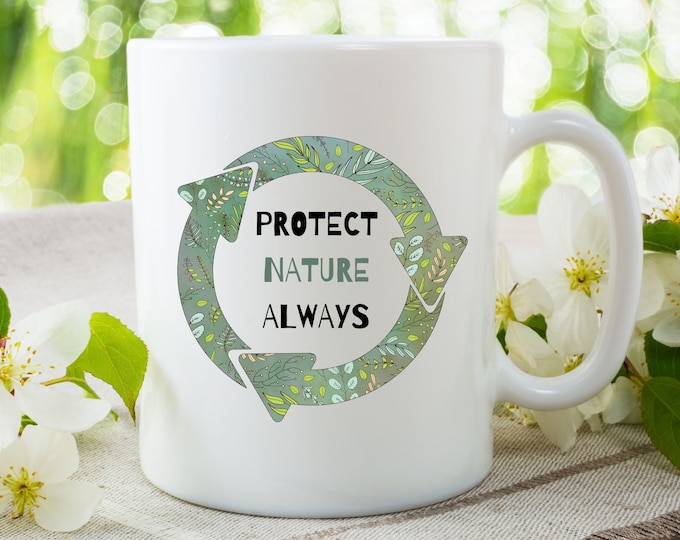 Featured listing image: Protect Nature Coffee Mug
