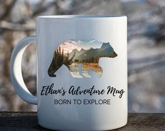 Personalized Bear Coffee Mug