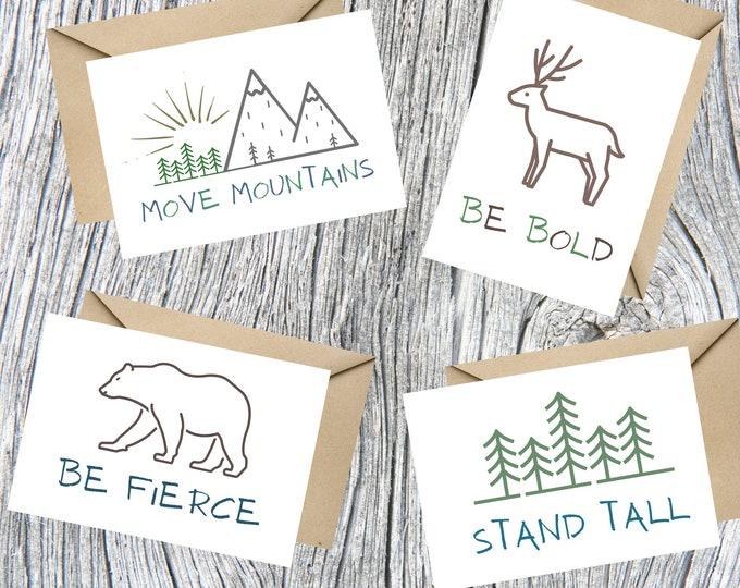 Inspirational Nature Notecards