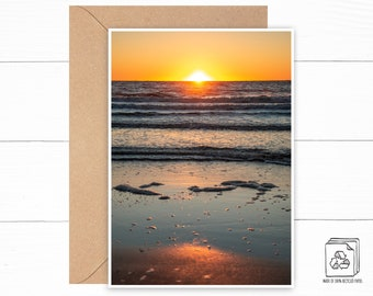 Personalized Beach Greeting Card