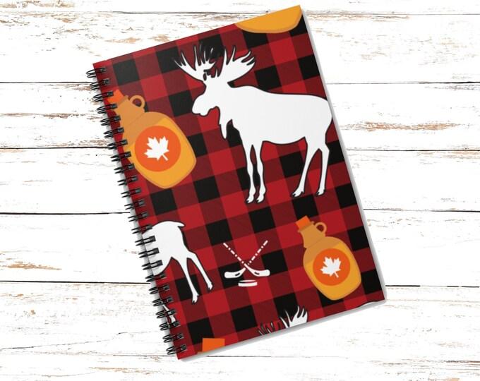 Canada Moose Notebook