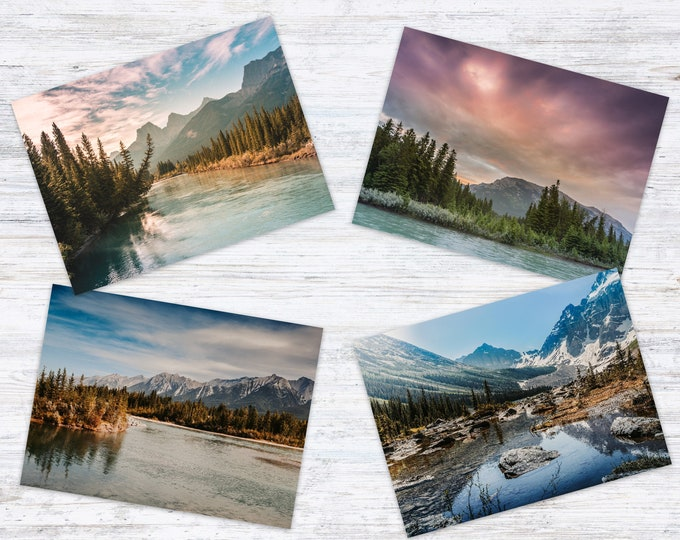 Featured listing image: Mountain Postcard Set
