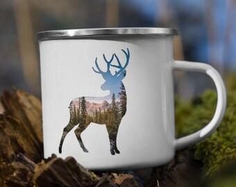 Deer Campfire Mug
