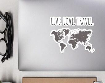 Travel Quote Sticker