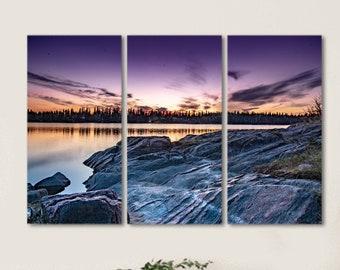 Sunset Wall Art Set of 3