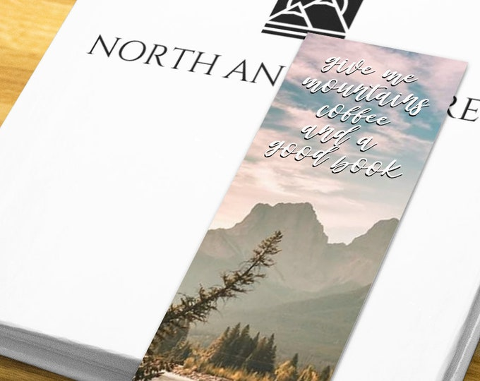 Mountain Quote Bookmark