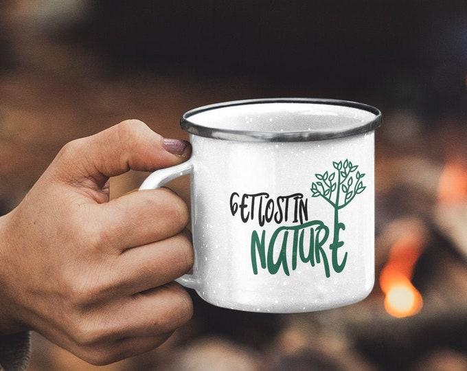 Nature Enamel Camping Mug