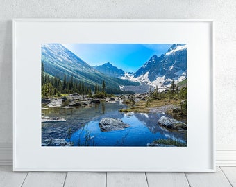 Banff Mountains Photography Print