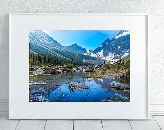 Banff Mountains Photography Print
